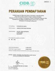CIDB Registration